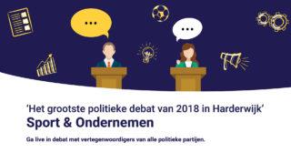 Kom naar het grootste politieke debat van Harderwijk